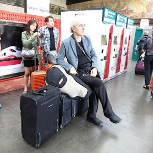1.John Doan with Luggage