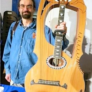 30.Benoît Meulle-Stef with harp guitar
