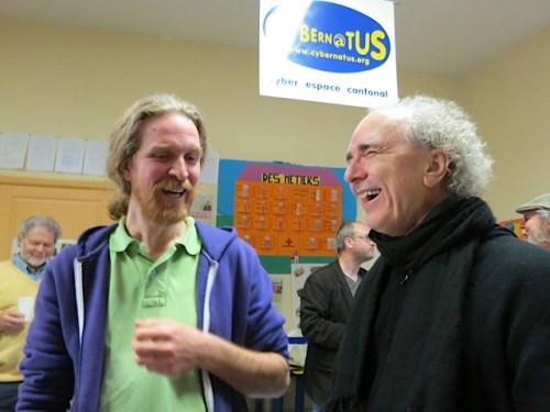 John Doan and Cedric Varglas