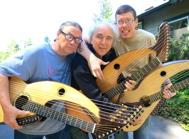 Harp Guitar Retreat 2013 3 harp guitarists5