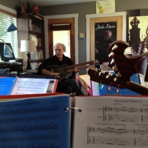 Harp Guitar Retreat 2013 Class Gerry