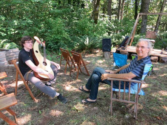 6. Harp Guitar Retreat 2014 Adrian Bellue Lesson
