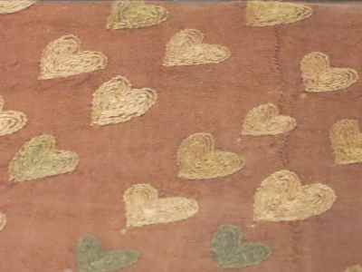 16.3 Silk w Hearts Embroidery 600 AD