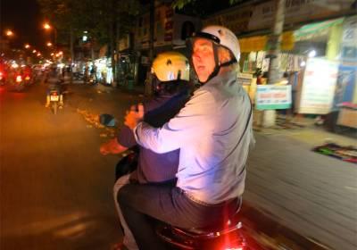 65. John Doan Too Calm Tinh Motorcycle