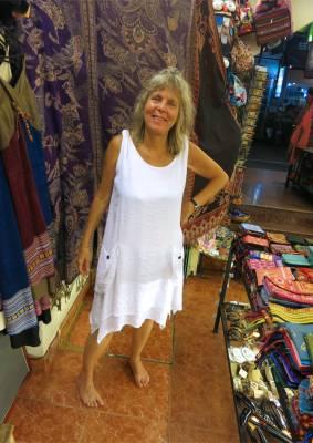 84. Deirdra Tries on Dress