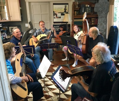 Harp Guitar Retreat Class with John Doan
