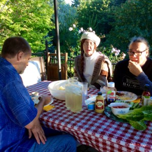 6. John Doan's Harp Guitar Retreat Lunch