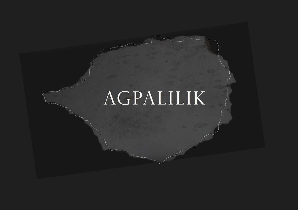Agpalilik sculpture: project logo
