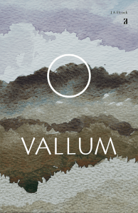 Vallum, poetry book jacket