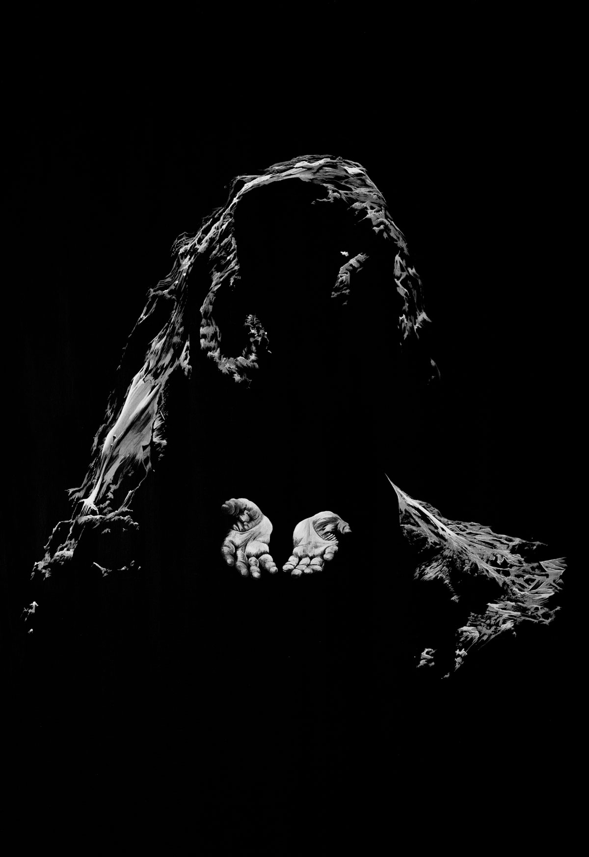 Painting of comet 67P