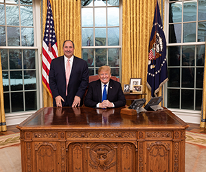 donald trump with john fredericks