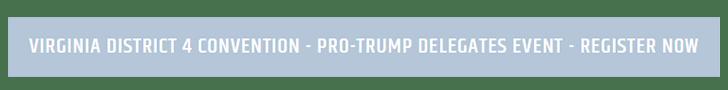 trump delegate event button