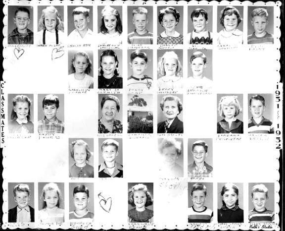 John Muir Elementary School 1951-1956