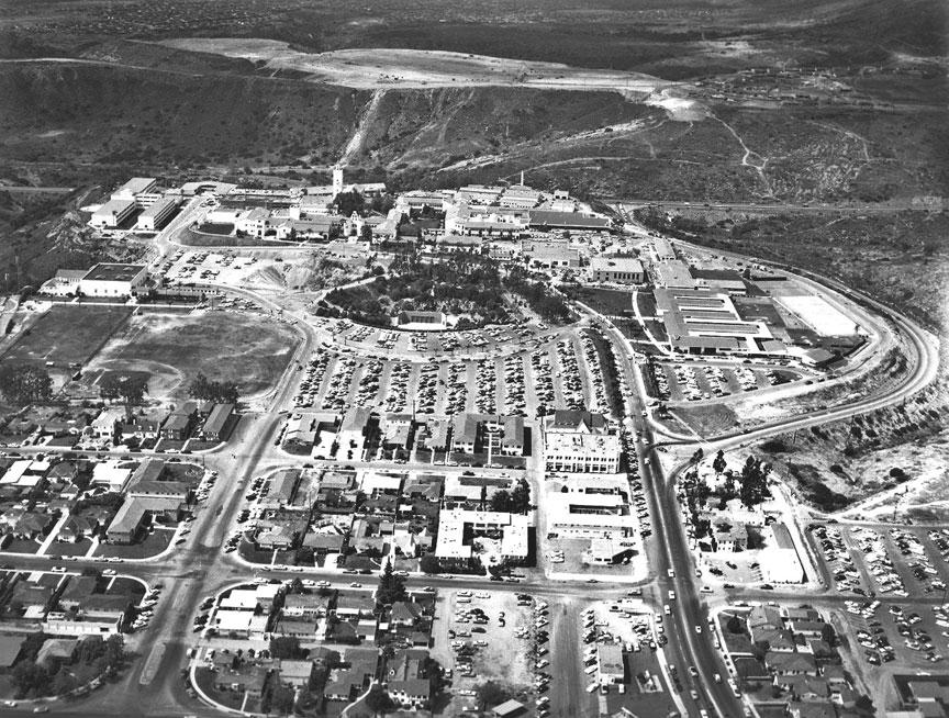 San Diego State College circa 1955