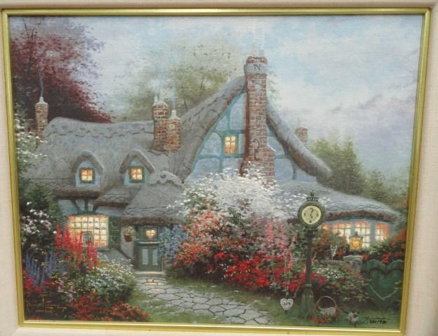 Thomas Kinkade Sweetheart Cottage
