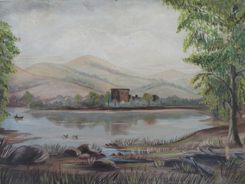 Arcadian Fishing scene
