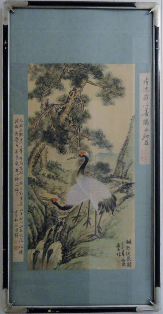 Qing Dynasty Red Crowned Crane 19th century , created in the 19th century.