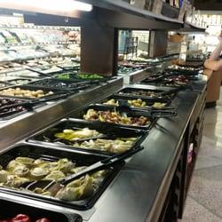 Barons Market salad bar