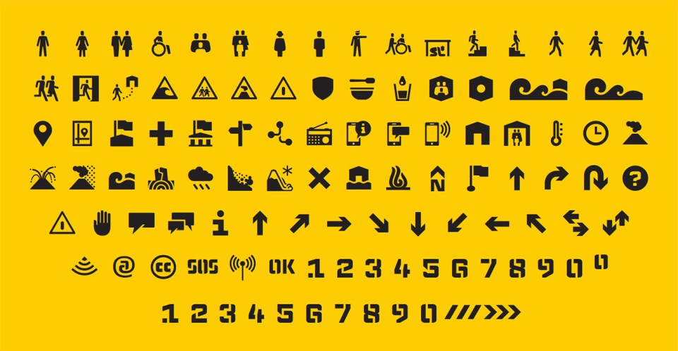 Emergency Symbols Infographics For The People