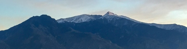 Le Canigou viewed from Prades