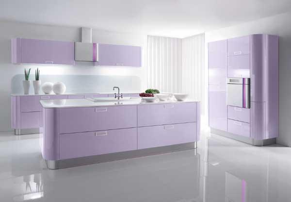 Light Lilac kitchen color