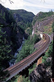 Bridge by Cheakamus Canyon
