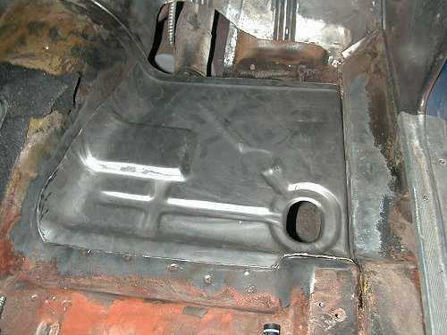 Floor Pan Replacement Project  John Heard Racing
