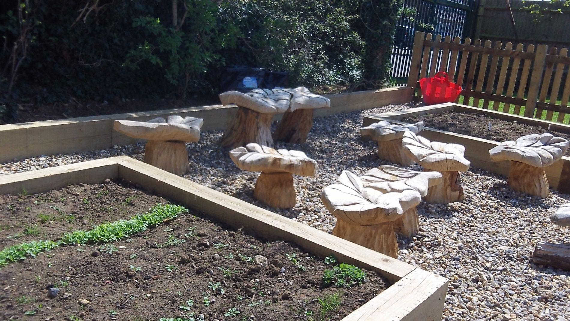 John Hellins Primary School School Garden