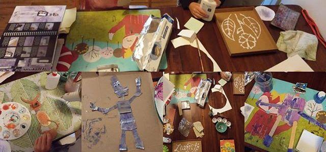 Sunday family art projects.