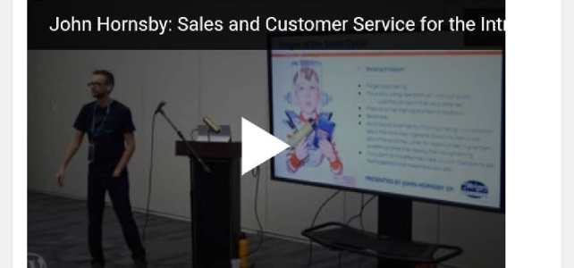My Talk on Sales for Introverts
