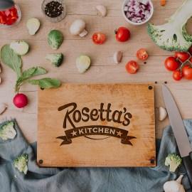 Rosetta Cutting Board
