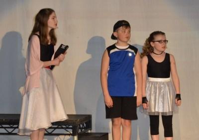 Ms Bell, Tyrone & Iris