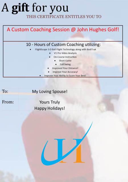 December Update JohnHUghesGolf.com Best Orlando Golf Lessons Best Orlando Golf Schools Beginner Golf Lessons