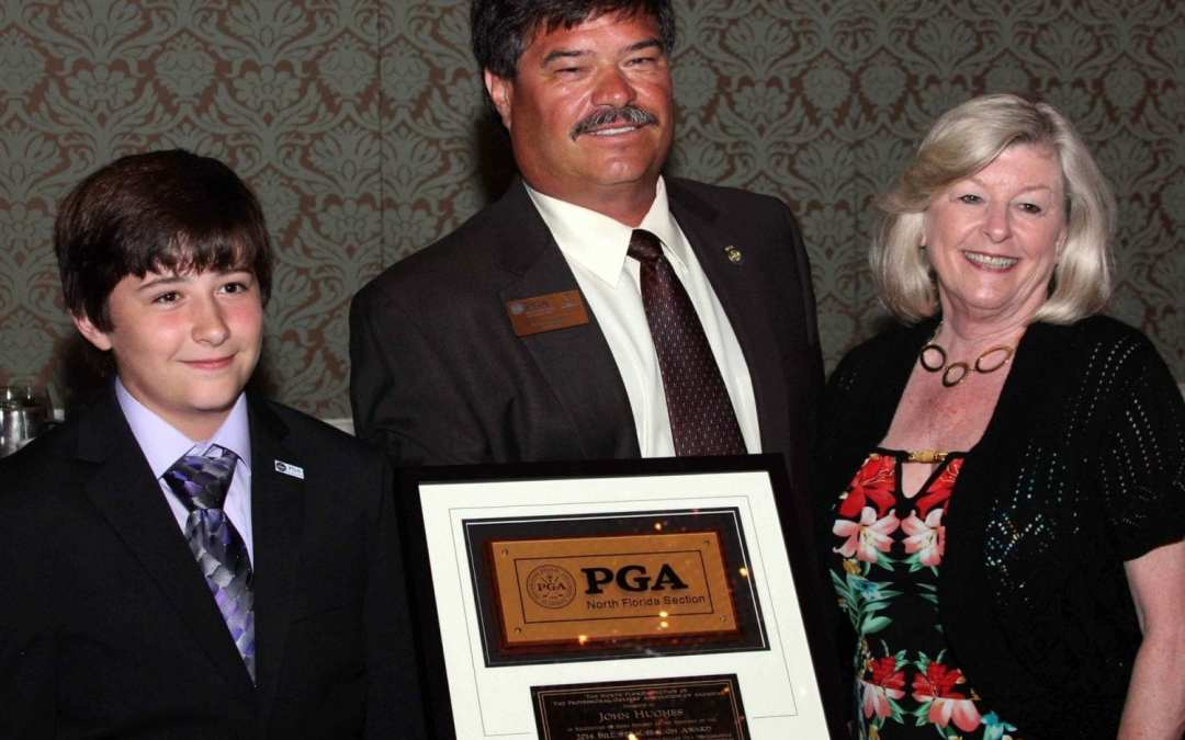 2014 NFPGA Bill Strausbaugh Award Recipient John Hughes Golf, Orlando Golf Lessons, Best Orlando Golf Schools, Best Orlando Junior Golf Lessons, Best Orlando Junior Golf Schools, Best Orlando Ladies Golf Lessons
