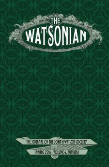 The Watsonian - Spring 2016