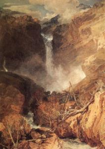 """The Great Falls of the Reichenbach"" - Turner, 1804"