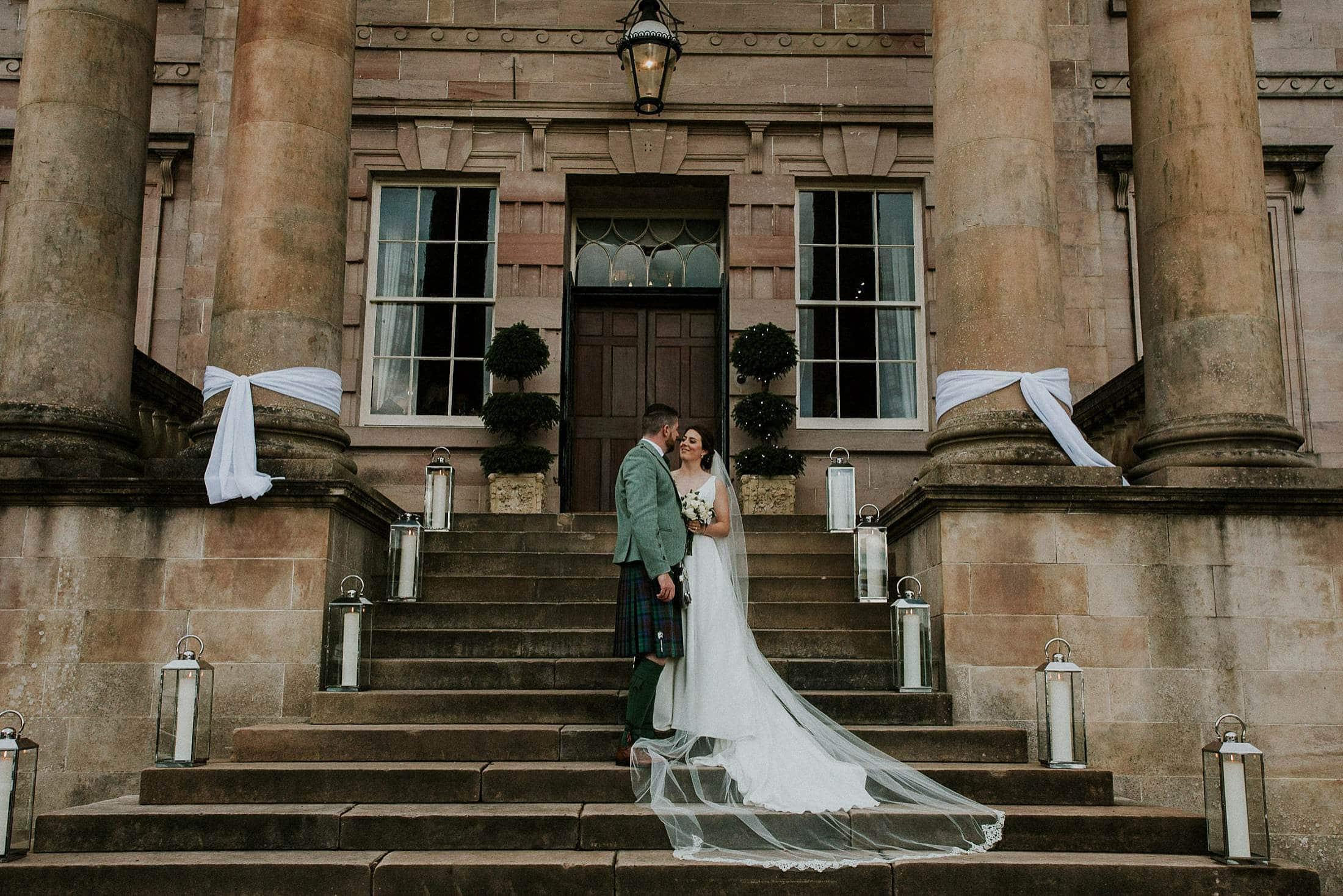Rossdhu House wedding at Loch Lomond Golf Club  John Johnston  Alternative Wedding