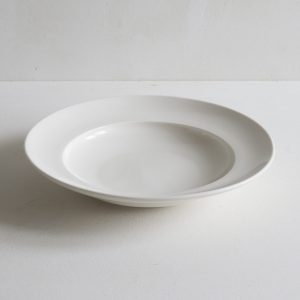 Classical Porcelain Shallow Bowl Pasta