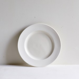 Classical Porcelain Side Plate Unglazed Border