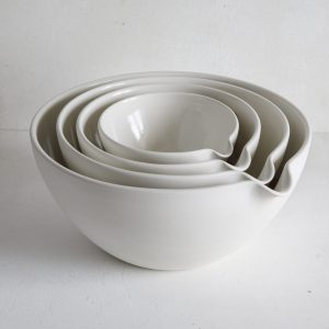 Mixing Bowls with pouring spout