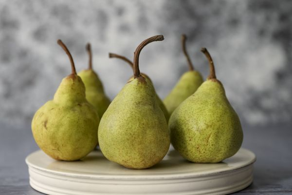 Classical Small Porcelain Platform with Pears
