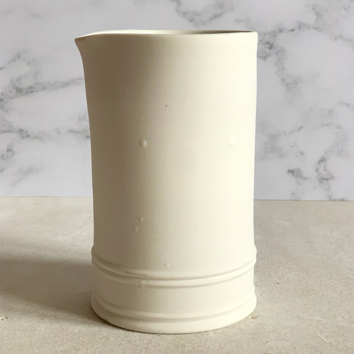 Seconds Jug with Clay Lumps