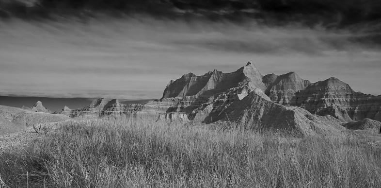 badlands ridgelines no 2