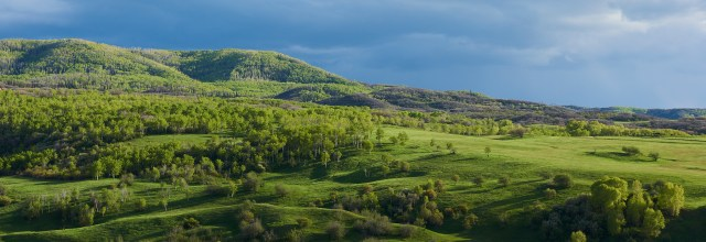 emerald green ridge