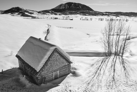 rcr 129 cabin in winter