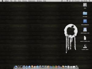 """My current iBook 12"""" Desktop"""