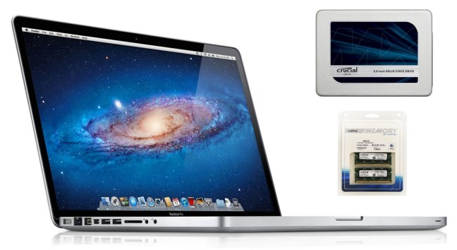 2012 Macbook Pro + Crucial 525GB SSD and 16GB Ram