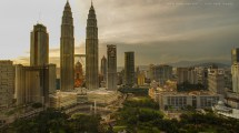 Place Of Klcc Icon Malaysia