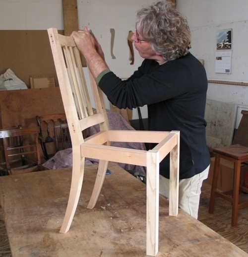 Conquering Chairs  Making a Childs Chair by John Lloyd