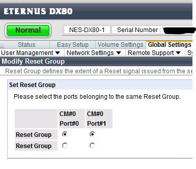 resetgroup